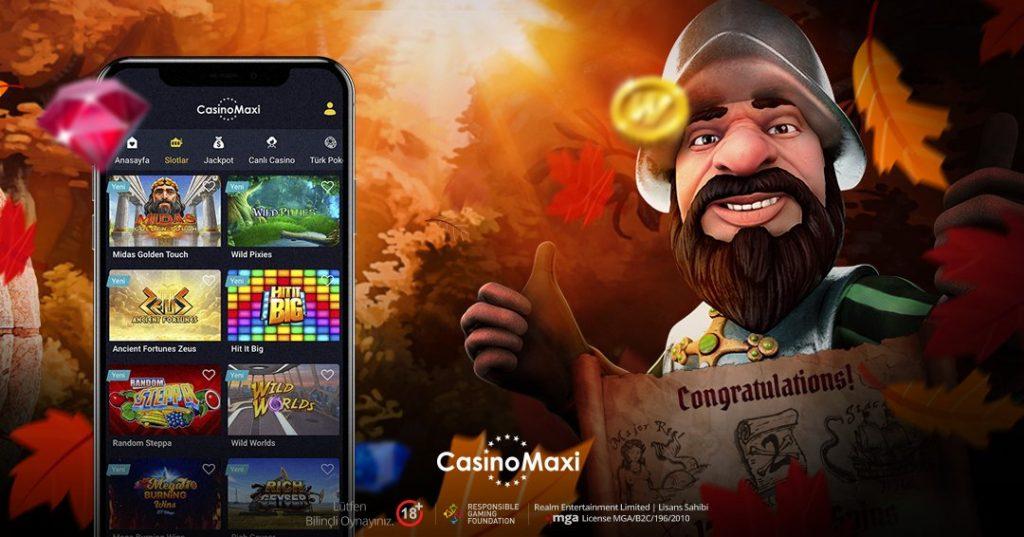 CasinoMaxi Giriş 2021